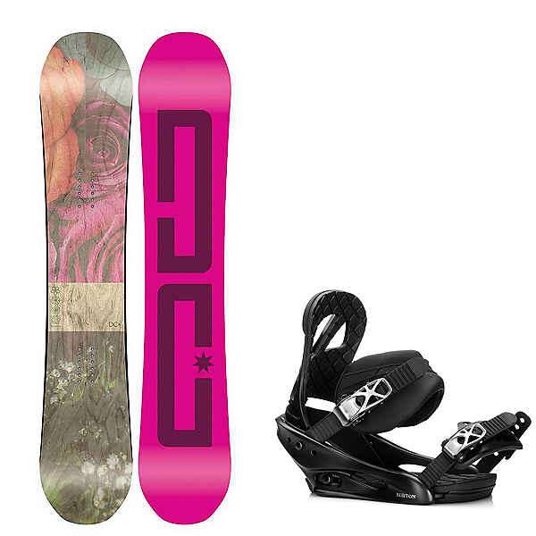 DC Telegraph Womens Snowboard and Binding Package, , 600