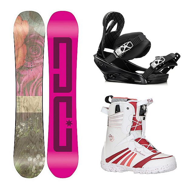 DC Telegraph Womens Complete Snowboard Package, , 600