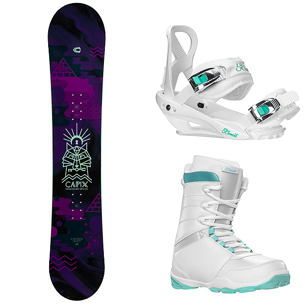 Capix Kindred Spirit Womens Complete Snowboard Package, , 600