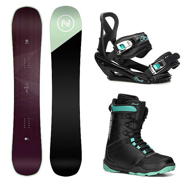 Nidecker Venus Womens Complete Snowboard Package, , 600