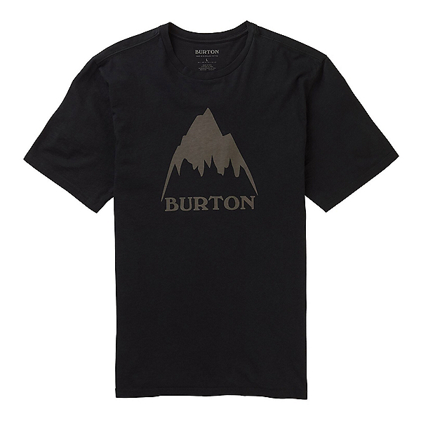 Burton Classic Mountain High T-Shirt, True Black, 600