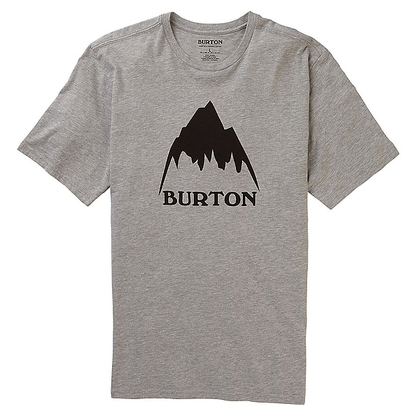 Burton Classic Mountain High T-Shirt, Gray Heather, 600