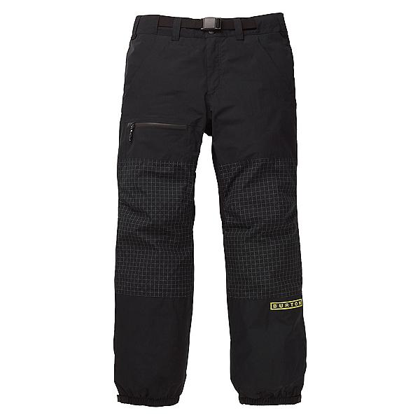 Burton Fronstner Mens Snowboard Pants, True Black-True Black Ripstop, 600