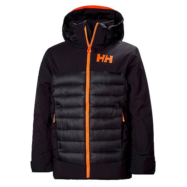 Helly Hansen Summit Boys Ski Jacket, Black, 600