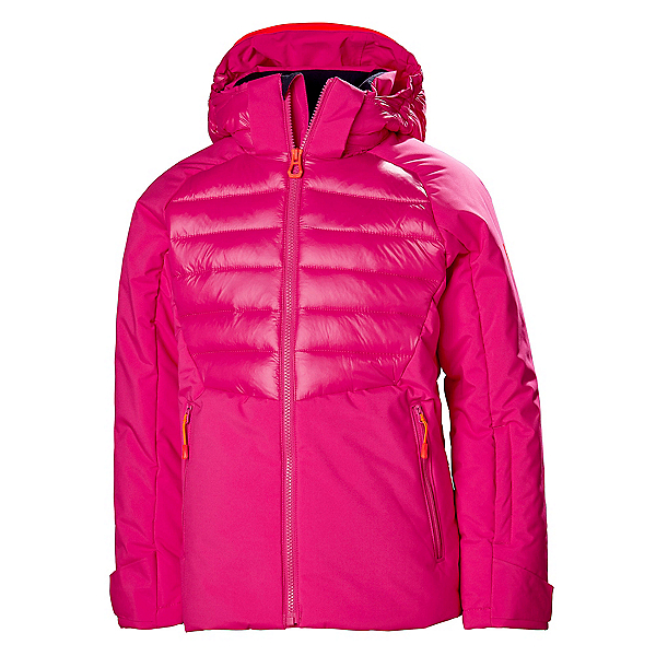 Helly Hansen Snowstar Girls Ski Jacket 2020, Dragon Fruit, 600