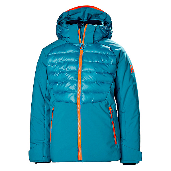 Helly Hansen Snowstar Girls Ski Jacket, Blue Wave, 600