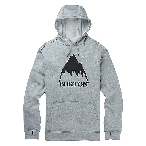 Burton Oak Mens Pullover Hoodie, Mtn Gray Heather, 600
