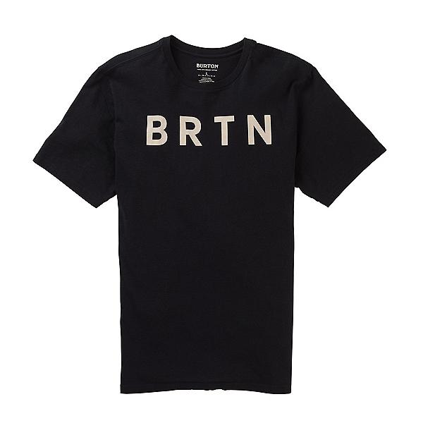 Burton BRTN Organic Short Sleeve Mens T-Shirt 2020, True Black, 600