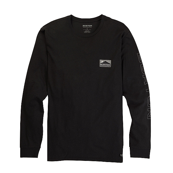 Burton Cloudspeed Long Sleeve Mens T-Shirt, Phantom, 600