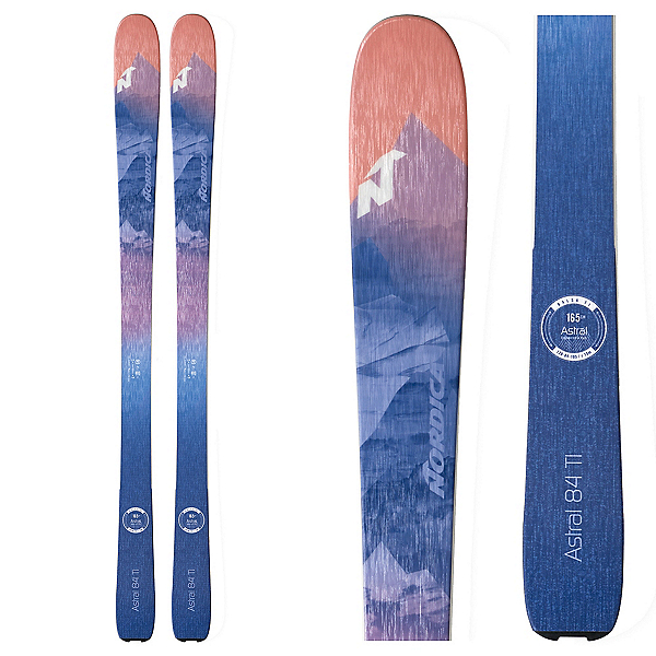 Nordica Astral 84 Womens Skis 2020, , 600