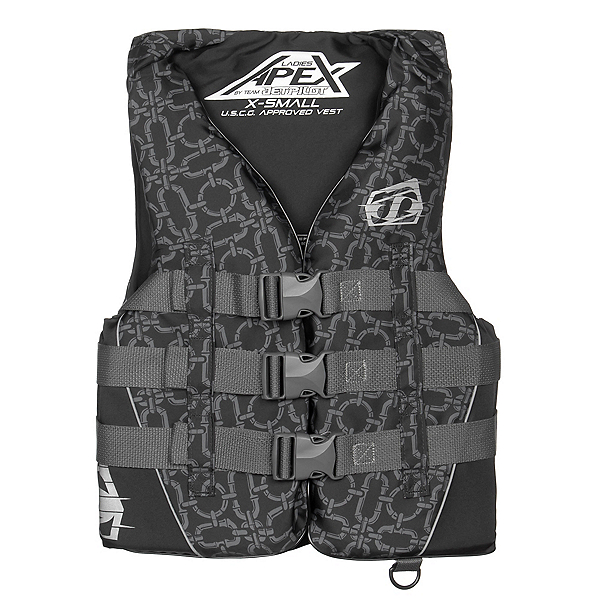 Jetpilot Apex Nylon Womens Life Vest, Black, 600
