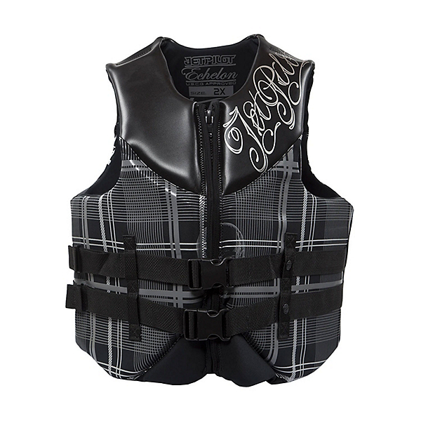 Jetpilot Echelon Neoprene Adult Life Vest, Black, 600