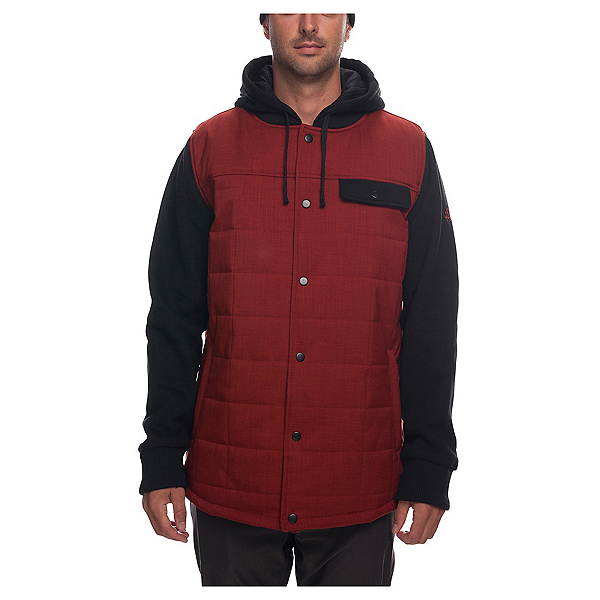 686 Bedwin Men's Insulated Jacket 2019, Rusty Red, 600