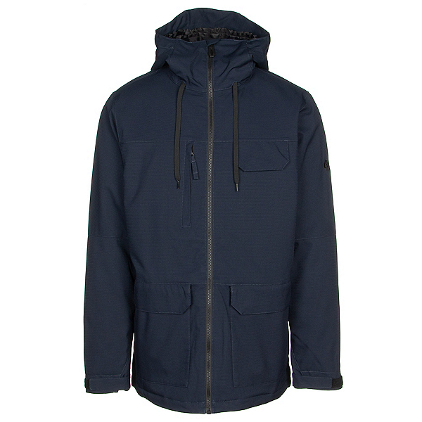 686 Level Mens Insulated Snowboard Jacket 2019, Navy, 600