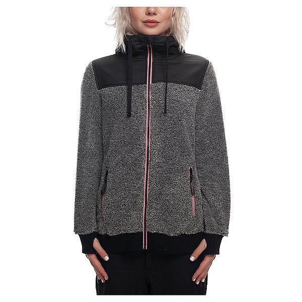 686 Flo Polar Zip Fleece Womens Hoodie 2019, , 600