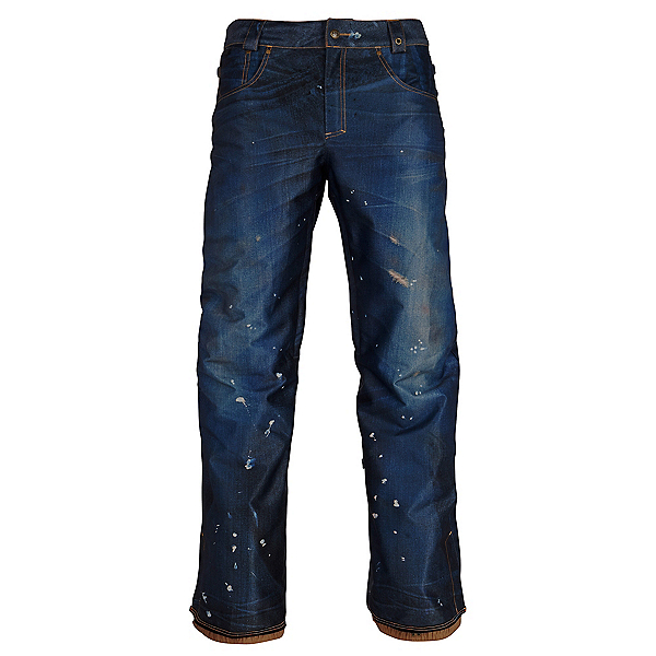 686 Deconstructed Denim Womens Snowboard Pants, , 600