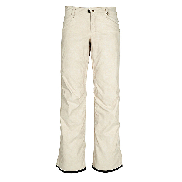 686 Patron Insulated Womens Snowboard Pants, Bone Wash, 600