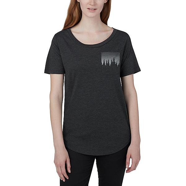 Tentree Juniper Pocket Tee Womens T-Shirt 2020, Black, 600