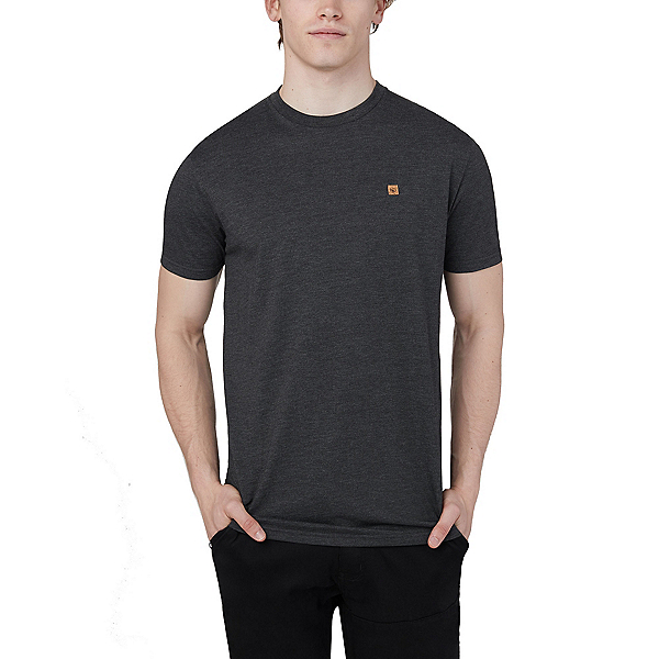 Tentree Classic Mens T-Shirt 2020, Meteorite Black Heather, 600