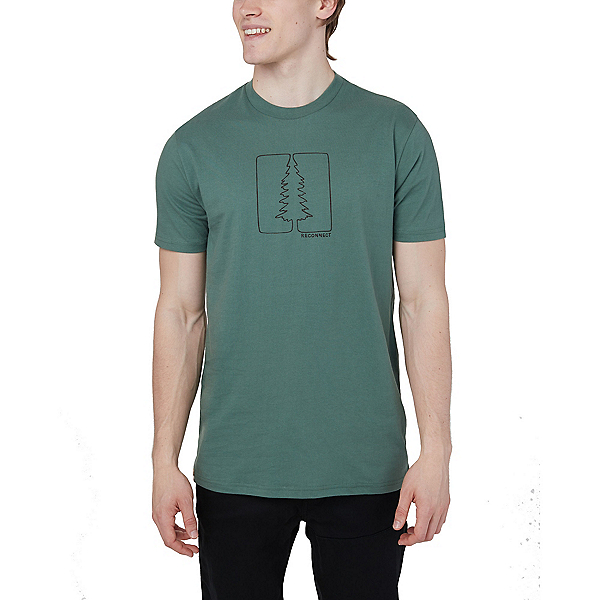 Tentree Reconnect Classic Mens T-Shirt, Forest Green, 600