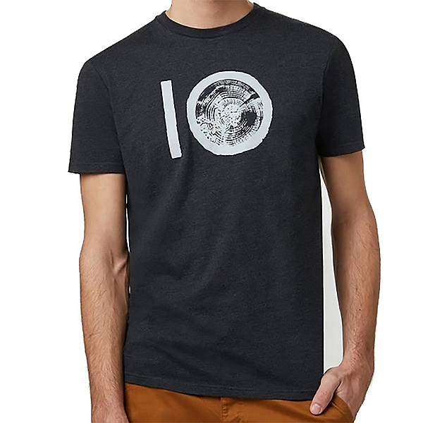 Tentree Ten Classic Mens T-Shirt, Meteorite Black Heather, 600