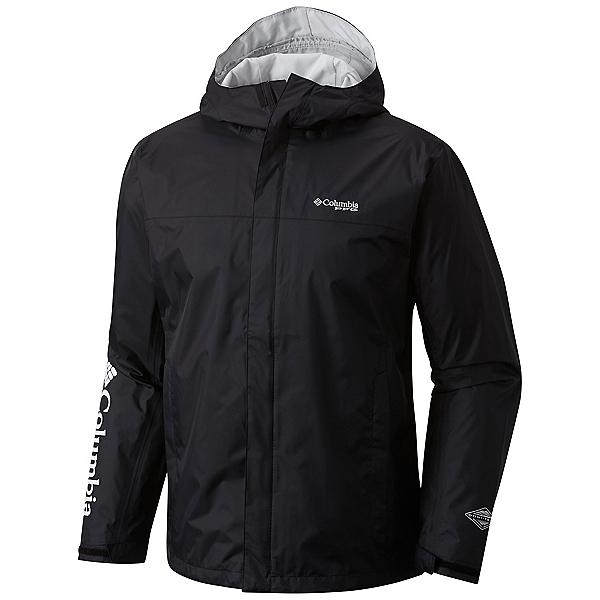 Columbia PFG Storm Mens Jacket, Black-Cool Grey, 600