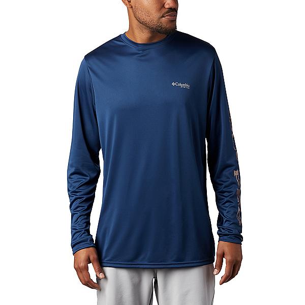 Columbia Terminal Tackle PFG LS Mens Shirt 2020, Carbon-Realtree Mako, 600