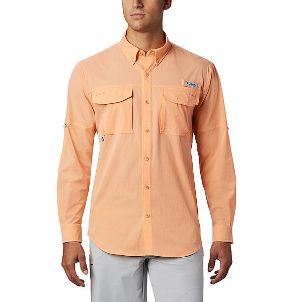 Columbia Permit Woven LS Mens Shirt 2020, Bright Nectar, 600