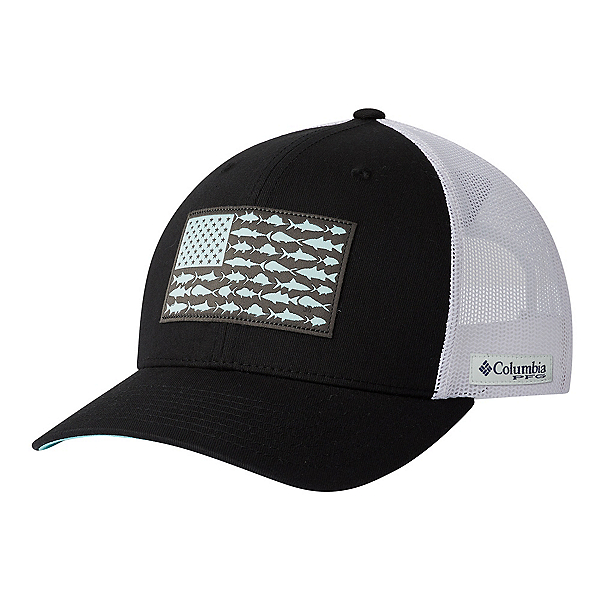 Columbia PFG Mesh Snap Fish Flag Hat, , 600