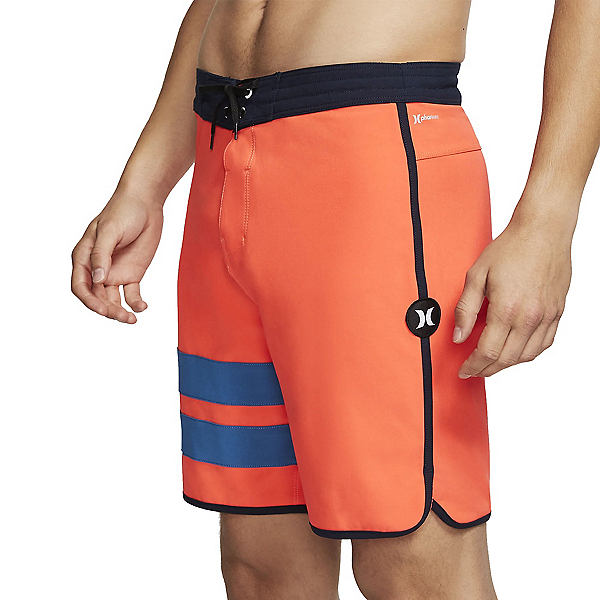 Hurley Phantom Block Party 18in Mens Board Shorts 2020, Bright Crimson, 600
