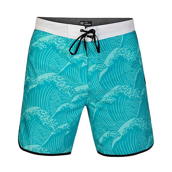 Hurley Phantom Waves 18in Mens Board Shorts 2020, Aurora Green, 600
