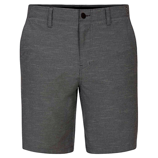 Hurley Phantom Response 20in Mens Hybrid Shorts, Dark Smoke Grey, 600