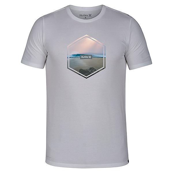 Hurley Dri-Fit Hex Short Sleeve Mens T-Shirt 2020, , 600