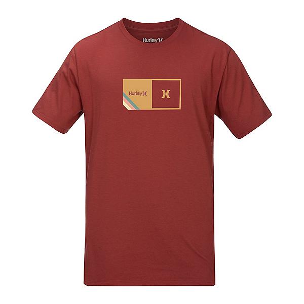 Hurley Halfer Stripe Short Sleeve Mens T-Shirt 2020, , 600