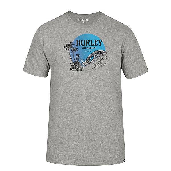 Hurley Beachside Short Sleeve Mens T-Shirt 2020, , 600