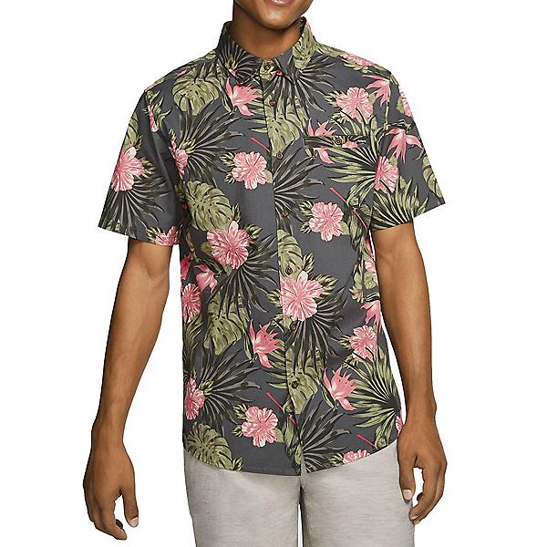 Hurley Lanai Stretch Short Sleeve Mens Shirt 2020, , 600