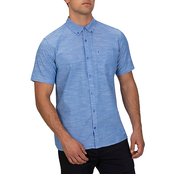 Hurley One & Only 2.0 Short Sleeve Mens Shirt, , 600