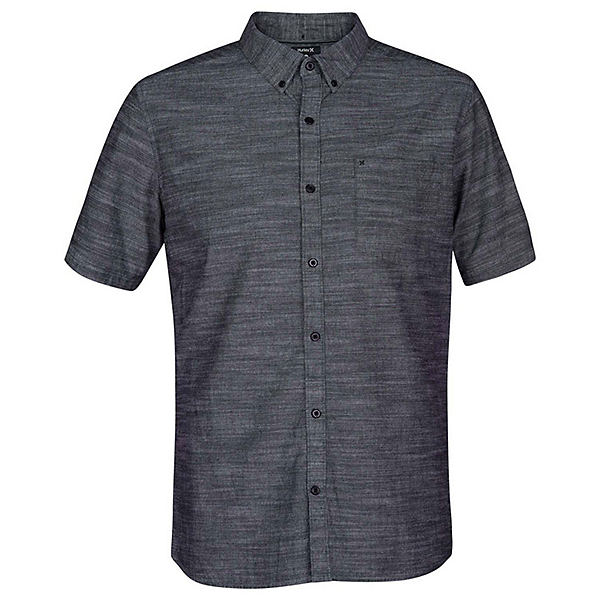 Hurley One & Only 2.0 Short Sleeve Mens Shirt 2020, Black, 600