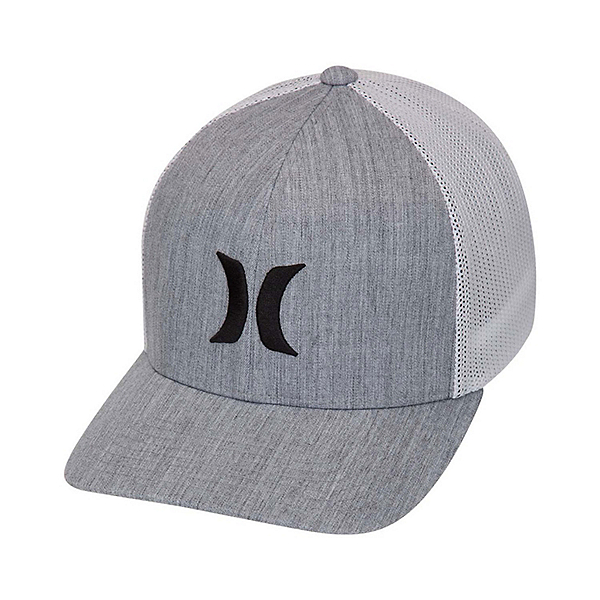 Hurley Icon Textures Hat, Cool Grey, 600