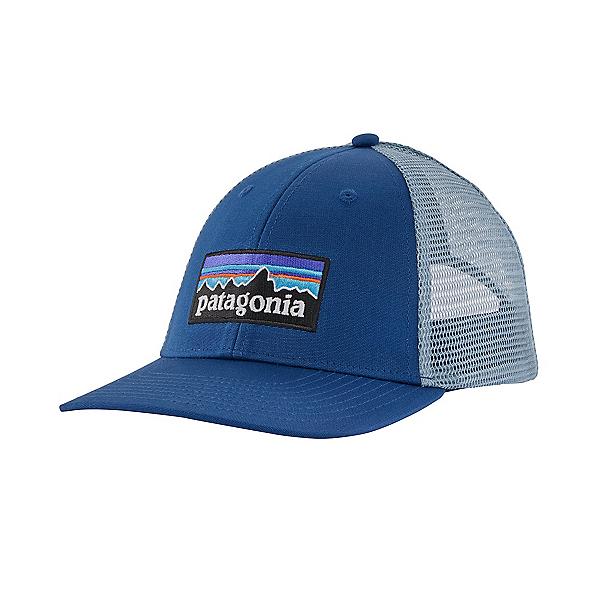 Patagonia P-6 Logo LoPro Trucker Hat, Superior Blue, 600