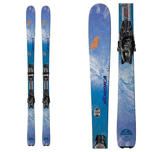 Nordica Astral 78 FDT Womens Skis with TP2 FDT Bindings, , 600