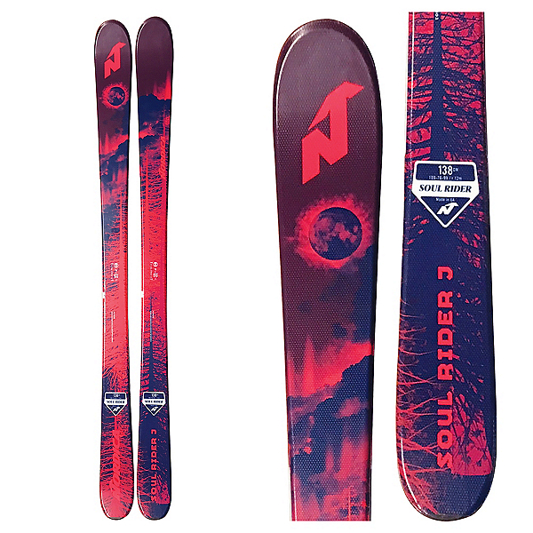 Nordica Soul Rider J Kids Skis, , 600