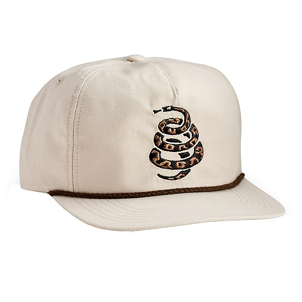 Howler Brothers Unstructured Snapback 2020, Cottonmouth Off White, 600