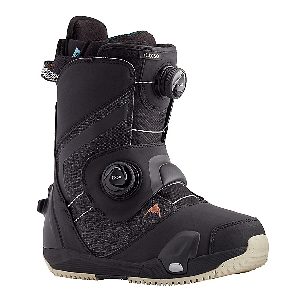 Burton Felix Step On LTD Womens Snowboard Boots, Black, 600