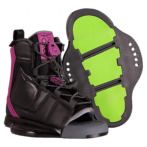 Liquid Force Plush Boot Womens Wakeboard Bindings 2020, , 600