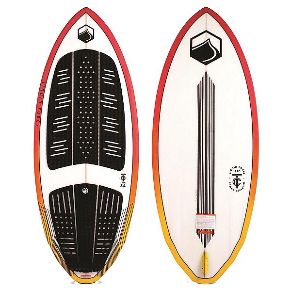 Liquid Force TC Skim Wakesurfer 2020, Red-Yellow, 600