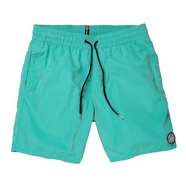 Volcom Lido Solid Mens Board Shorts 2020, Mysto Green, 600