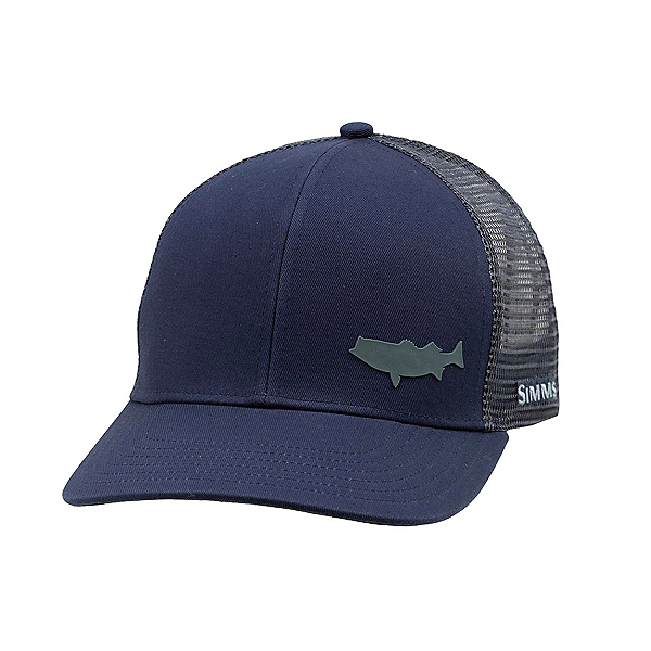 Simms Payoff Trucker Hat, Admiral Blue, 600