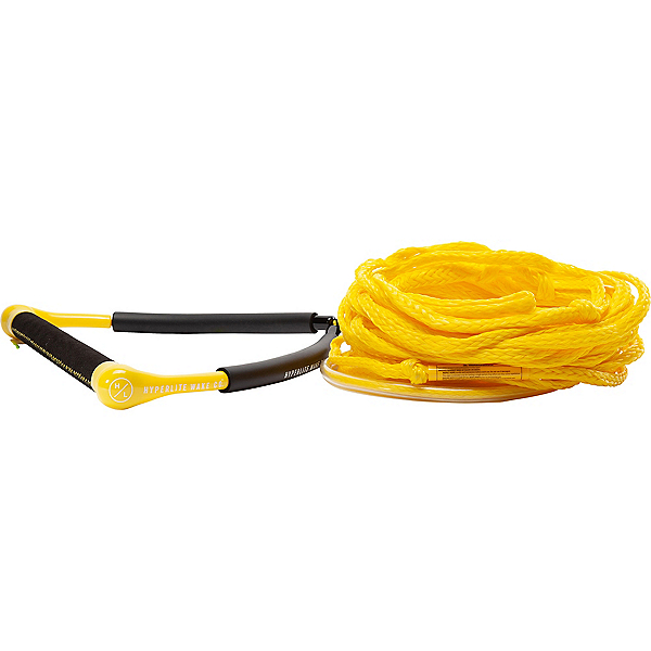 Hyperlite CG Handle with Poly E Wakeboard Rope 2020, Yellow, 600