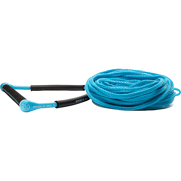 Hyperlite CG Handle with Poly E Wakeboard Rope, Blue, 600